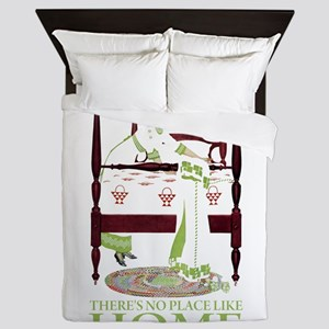 There's No Place Like Home Queen Duvet