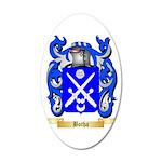 Botha 35x21 Oval Wall Decal
