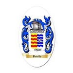Botello Oval Car Magnet