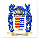 Botello Square Car Magnet 3