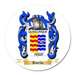 Botello Round Car Magnet