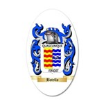 Botello 20x12 Oval Wall Decal