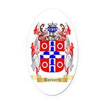 Bosworth Oval Car Magnet