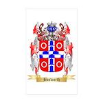 Bosworth Sticker (Rectangle 50 pk)