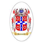 Bosworth Sticker (Oval 10 pk)