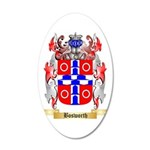Bosworth 35x21 Oval Wall Decal