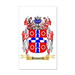 Bosworth 35x21 Wall Decal