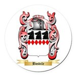 Bosvile Round Car Magnet
