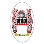 Bosvile Sticker (Oval 50 pk)