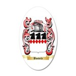 Bosvile 20x12 Oval Wall Decal