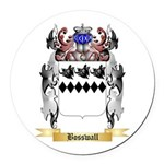 Bosswall Round Car Magnet