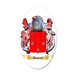 Bossum Oval Car Magnet