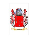 Bossum Sticker (Rectangle 10 pk)