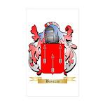 Bossum Sticker (Rectangle 50 pk)