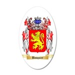 Bosquier 35x21 Oval Wall Decal