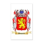 Bosquier 35x21 Wall Decal