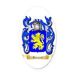 Bosquet Oval Car Magnet