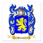 Bosquet Square Car Magnet 3