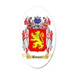 Bosquer Oval Car Magnet