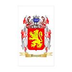 Bosquer Sticker (Rectangle 50 pk)