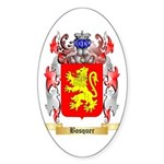 Bosquer Sticker (Oval 50 pk)