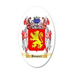 Bosquer 35x21 Oval Wall Decal
