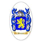 Bosque Sticker (Oval 10 pk)