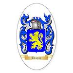 Bosque Sticker (Oval 50 pk)