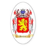 Boshier Sticker (Oval 10 pk)