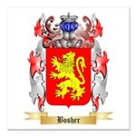 Bosher Square Car Magnet 3