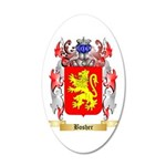 Bosher 20x12 Oval Wall Decal