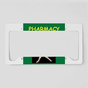 pharmacist License Plate Holder