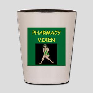 pharmacist Shot Glass