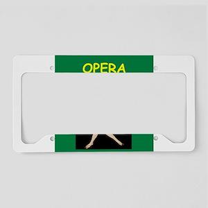 OPERA License Plate Holder