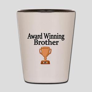 Award Winning Brother Shot Glass