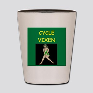 cycle Shot Glass
