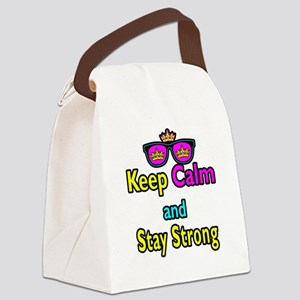 Crown Sunglasses Keep Calm And Stay Strong Canvas