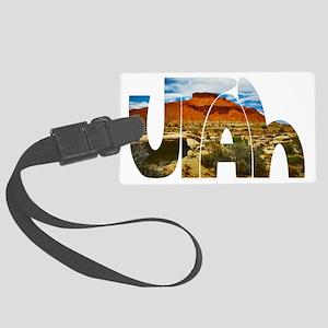 Utah desert logo Luggage Tag