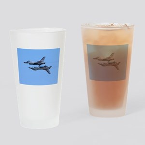 Airshow, USAF, Thunderbirds Drinking Glass