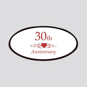 30th Wedding Anniversary Patches