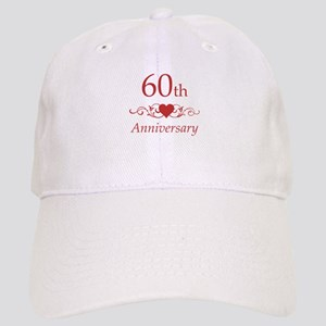 60th Wedding Anniversary Cap