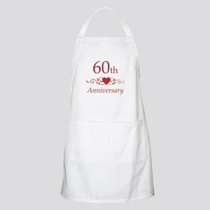 60th Wedding Anniversary Apron