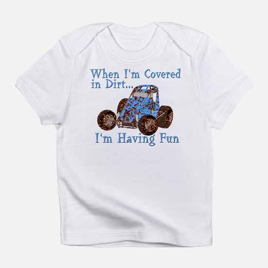 Funny Dirt racer Infant T-Shirt