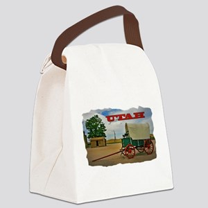 Utah covered wagon Canvas Lunch Bag