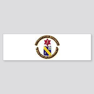 COA - 54th Infantry Regiment Sticker (Bumper)