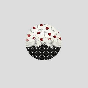 Little Ladybug Mini Button