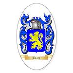 Boscq Sticker (Oval 50 pk)