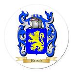 Boscolo Round Car Magnet