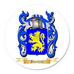 Boschini Round Car Magnet