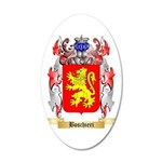 Boschieri 35x21 Oval Wall Decal